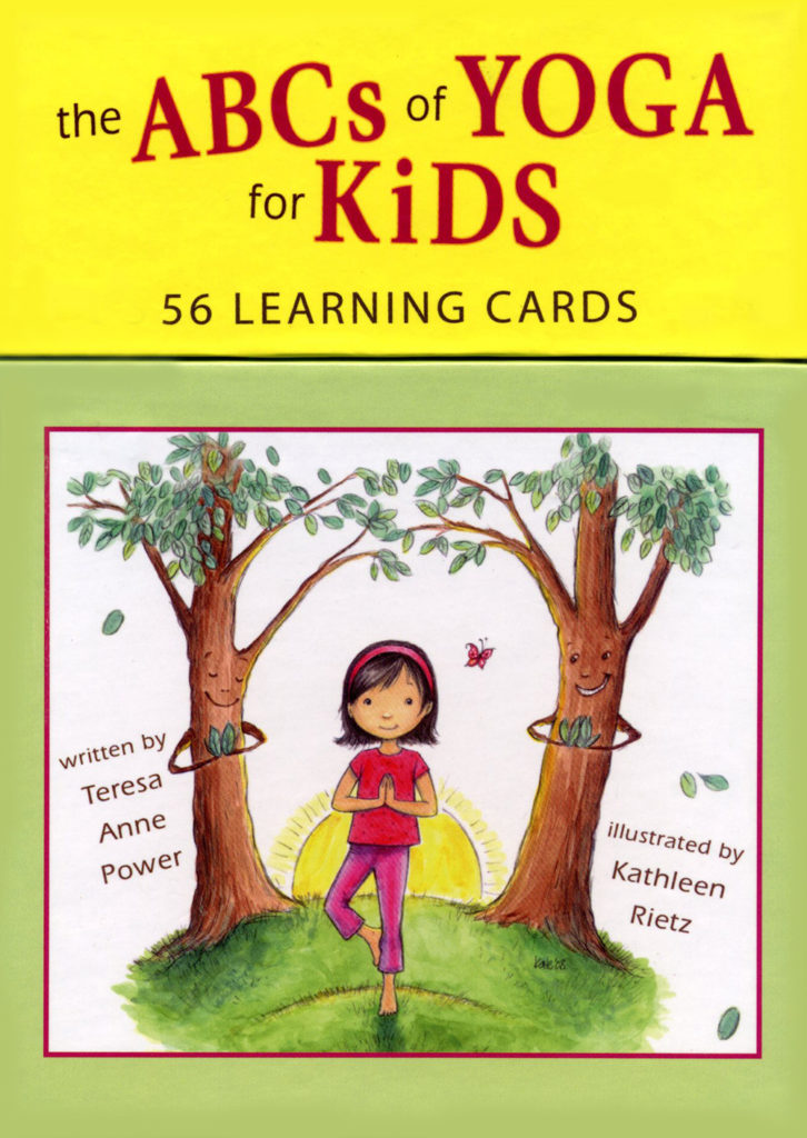 ABCs Yoga for Kids Learning Cards - Power
